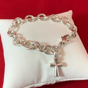 James Avery RETIRED 925 Classic Cable Bracelet
